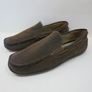 GBX Corduroy Suede Casual Comfort Moccasin Loafers